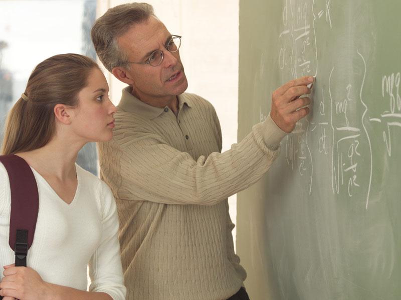 преподаватель и студентка фото